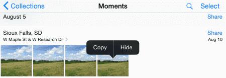 iPhone y iPad: cómo mostrar u ocultar fotos y videos