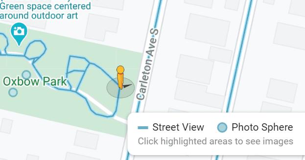 Se corrigió que Google Maps no mostrara Street View
