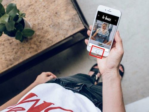 botón de inicio de iPhone