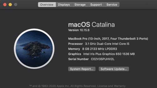 A través de este sitio de Mac