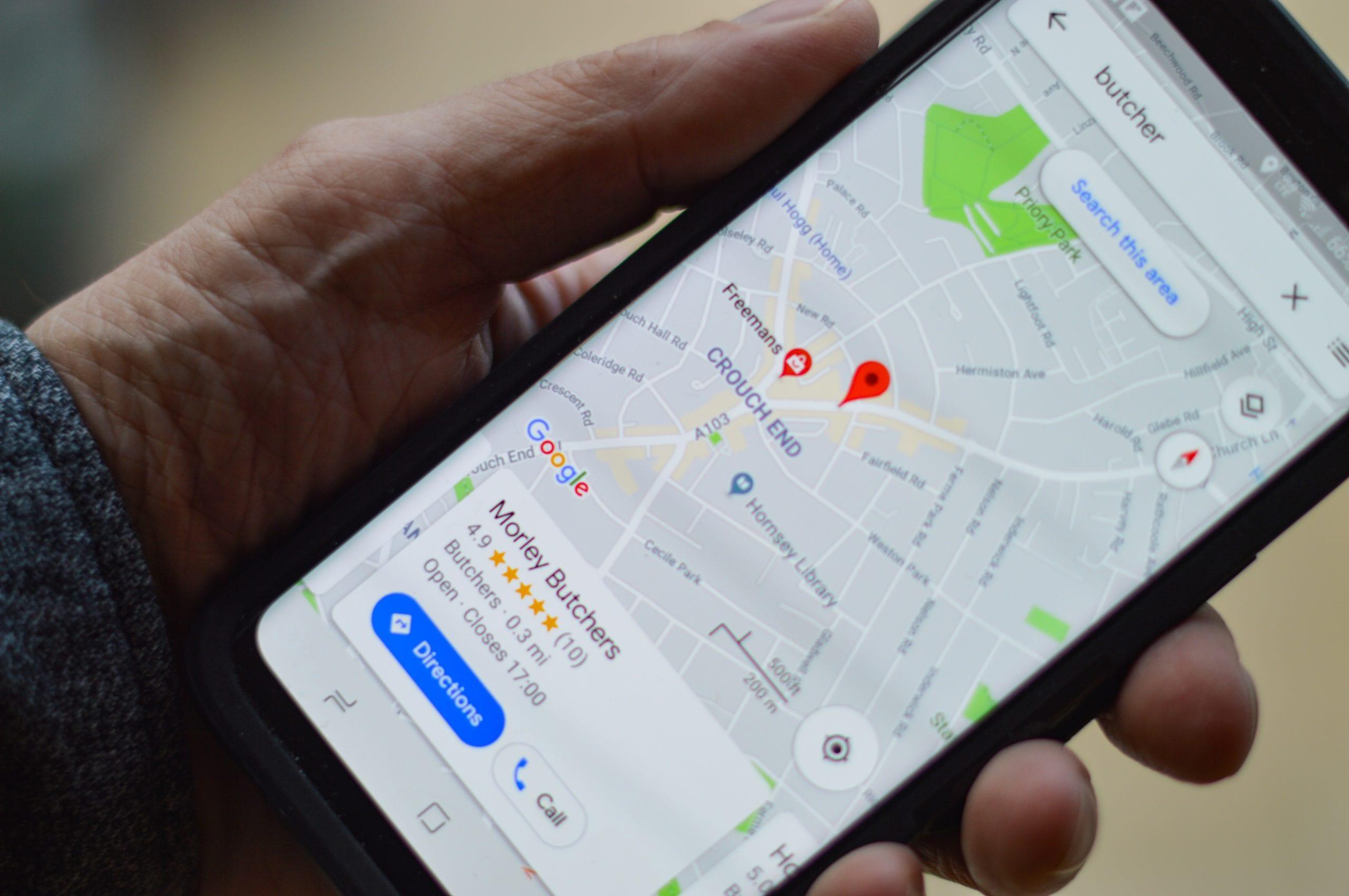 Cómo hacer zoom en Google Maps con un dedo
