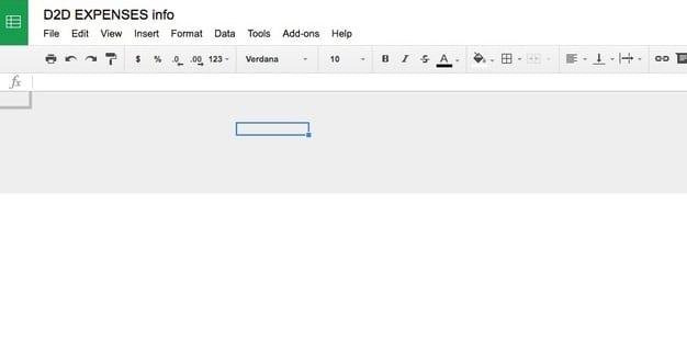 La solución de problemas de Google Sheets se queda en blanco