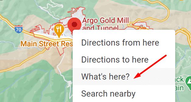 ¿Qué es Google Maps aquí?