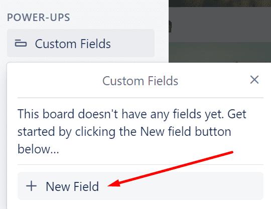 Los campos personalizados de Trello agregan un nuevo campo