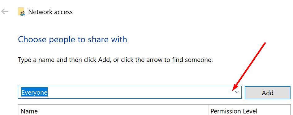 Compartir carpeta con todos Windows 10
