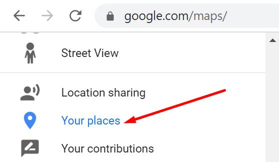 Google Maps tus lugares
