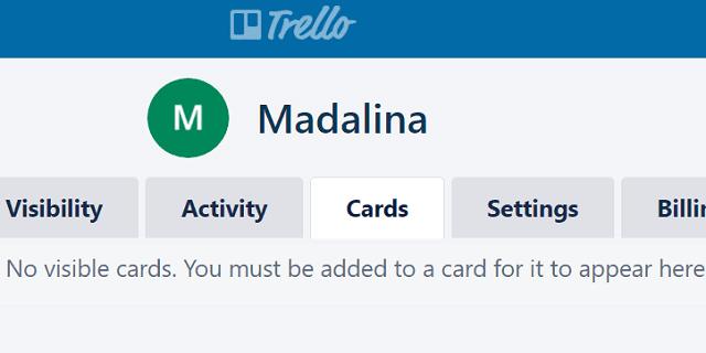 Solución de problemas Trello no muestra tarjetas
