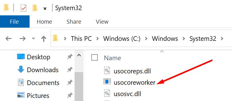 usocoreworker windows 10