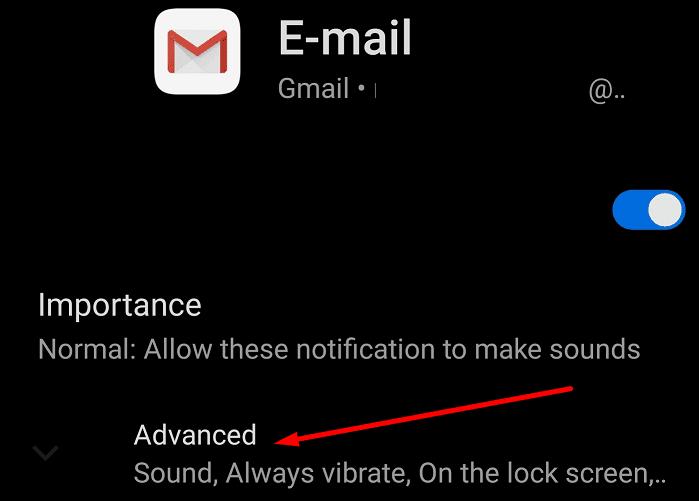 Configuración de notificaciones avanzada para Gmail