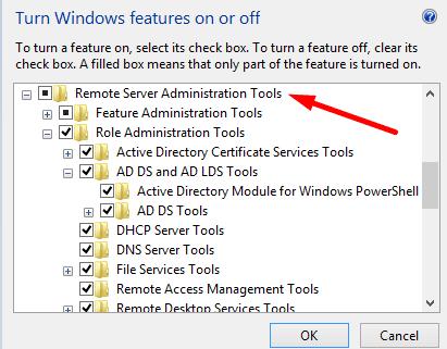 Windows tiene RSAT