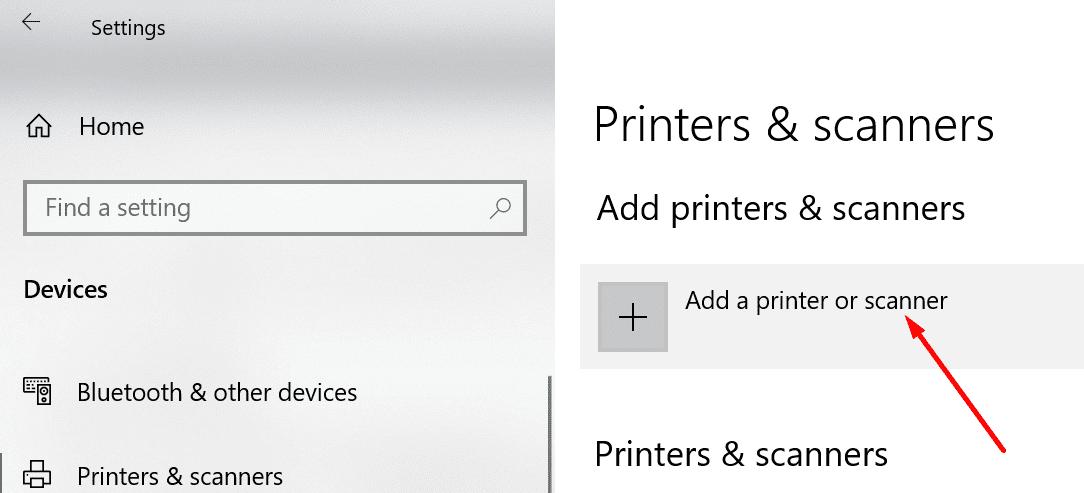 Agregar una impresora o un escáner a Windows 10