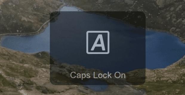 Windows 10: desactiva las notificaciones de bloqueo de mayúsculas