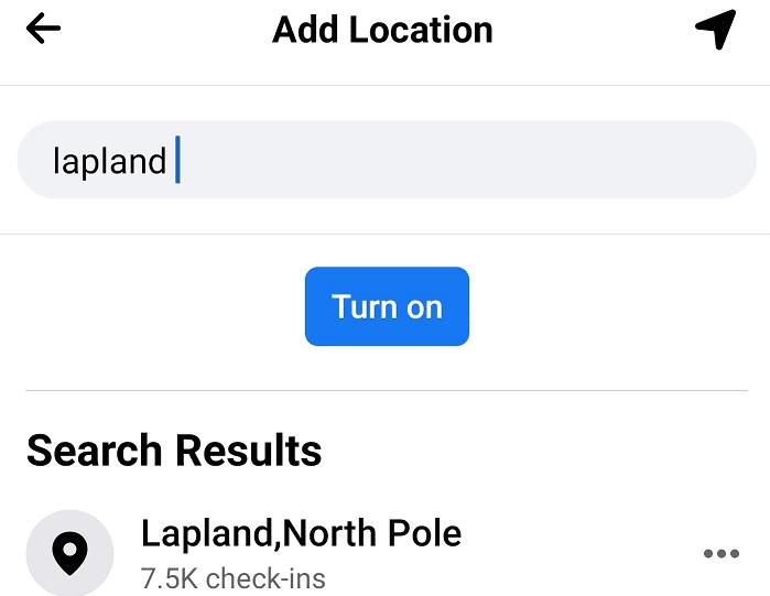Buscar ubicación de facturación Facebook