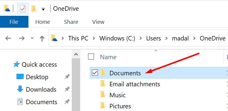 Carpeta para documentos de una unidad