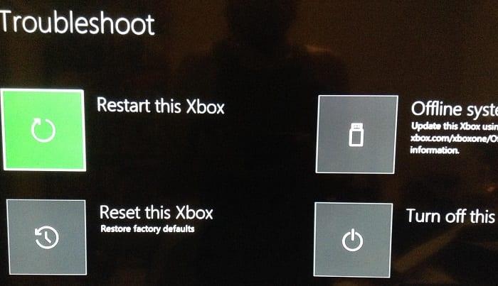 Solución de problemas de Xbox