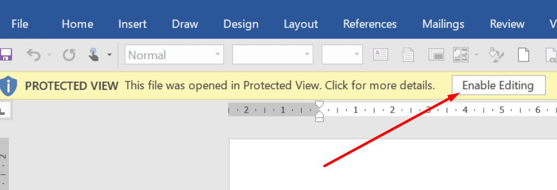 La vista protegida permite la edición