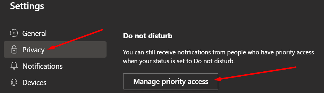 Los equipos de Microsoft no interfieren con la gestión de acceso prioritario
