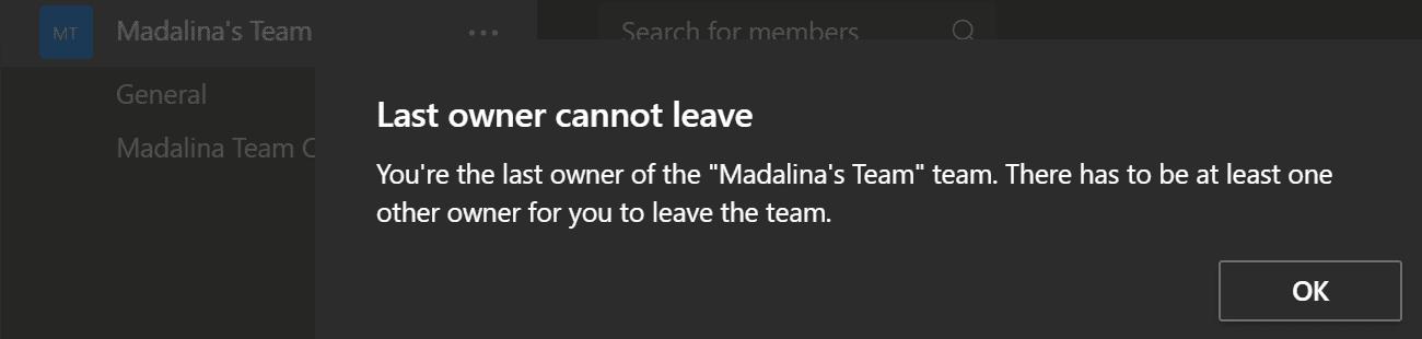 El último propietario del equipo de MS no puede irse
