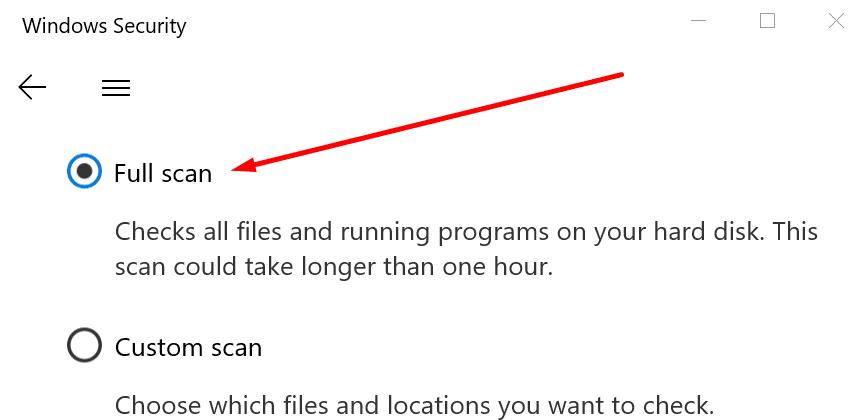 Análisis completo de seguridad de Windows