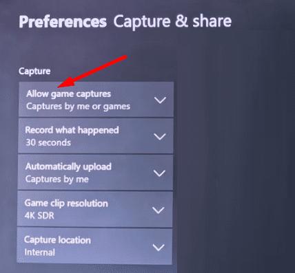 Xbox me permite grabar juegos o juegos