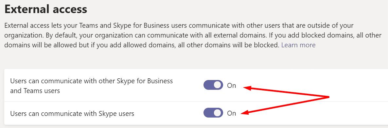 Los usuarios de Ms-Teams pueden comunicarse con los usuarios de Skype