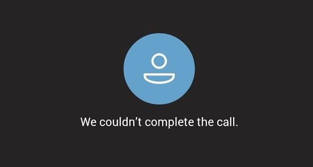 Microsoft Teams: no se pudo completar la llamada