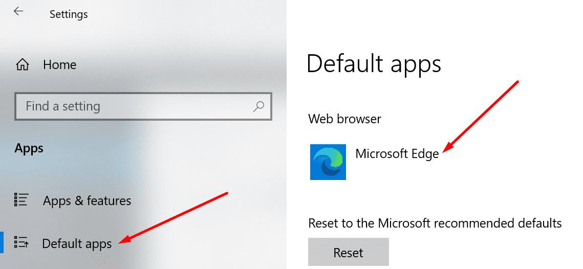 Cambiar la ventana predeterminada del navegador 10
