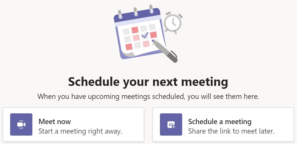 Iniciar la reunión de equipos de Microsoft