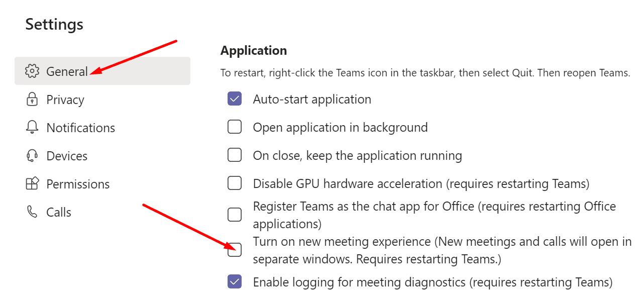 Habilite nuevas experiencias de reunión para Microsoft Teams