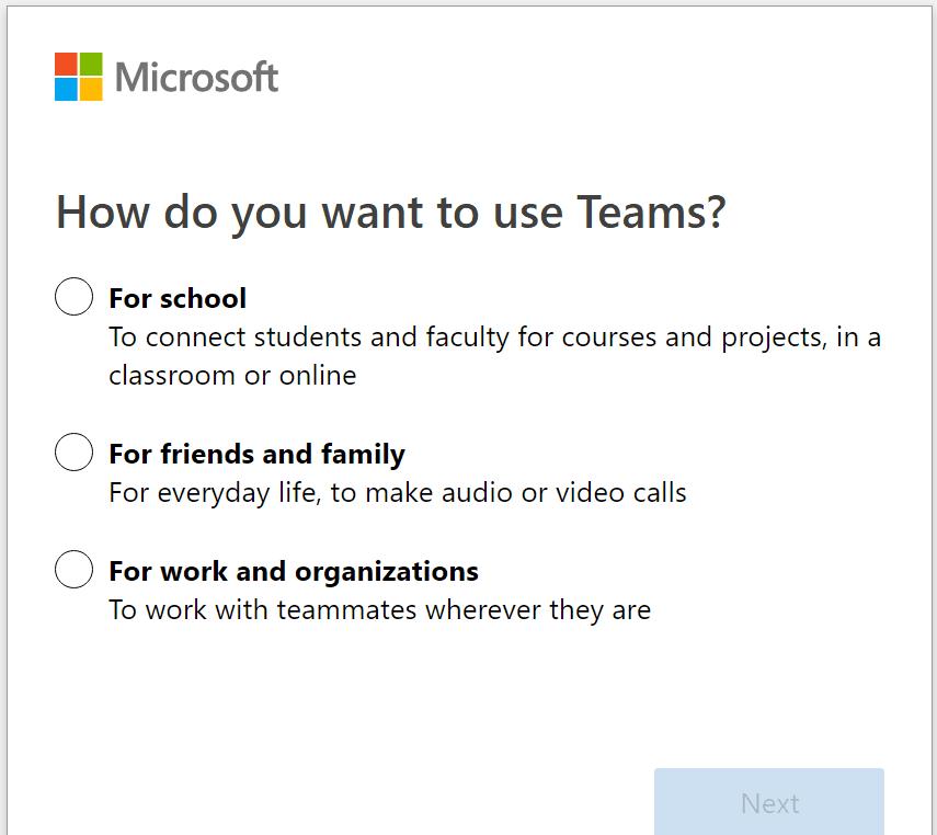 ¿Cómo le gustaría usar Teams?