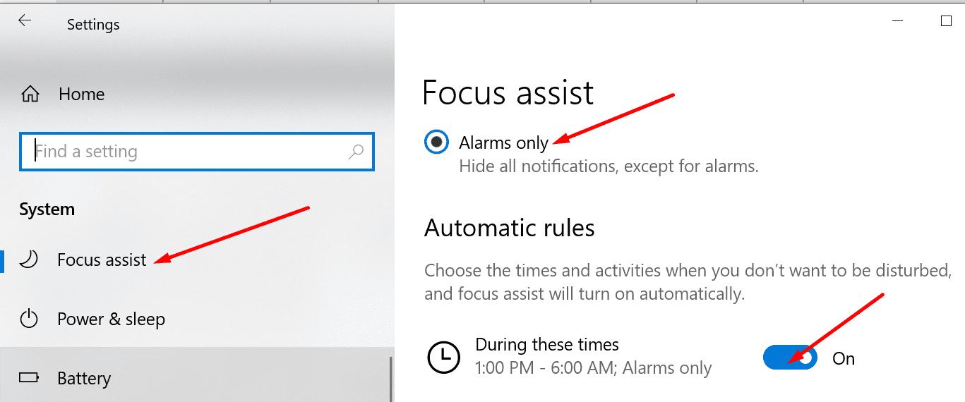 Activar la ventana para apoyar el enfoque 10