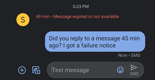 Solución: el mensaje de OnePlus expiró o no está disponible