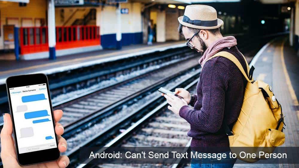 Android: no se pueden enviar mensajes de texto a alguien