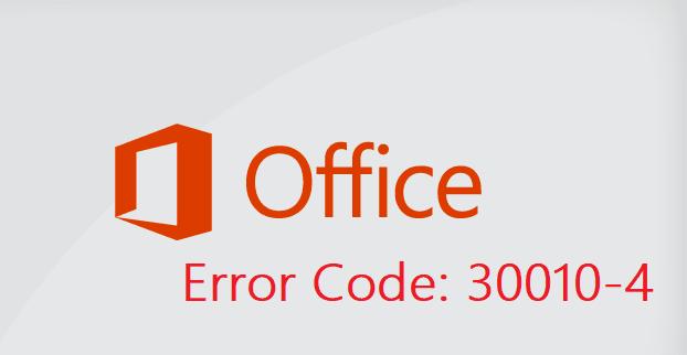 Cómo reparar el código de error 30010-4 de Microsoft Office